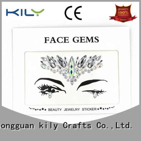 KILY custom festival face stickers for Christmas