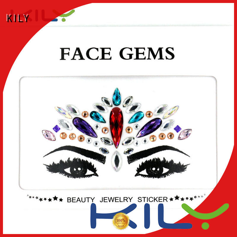 KILY kb1065 jewel face supplier for Christmas