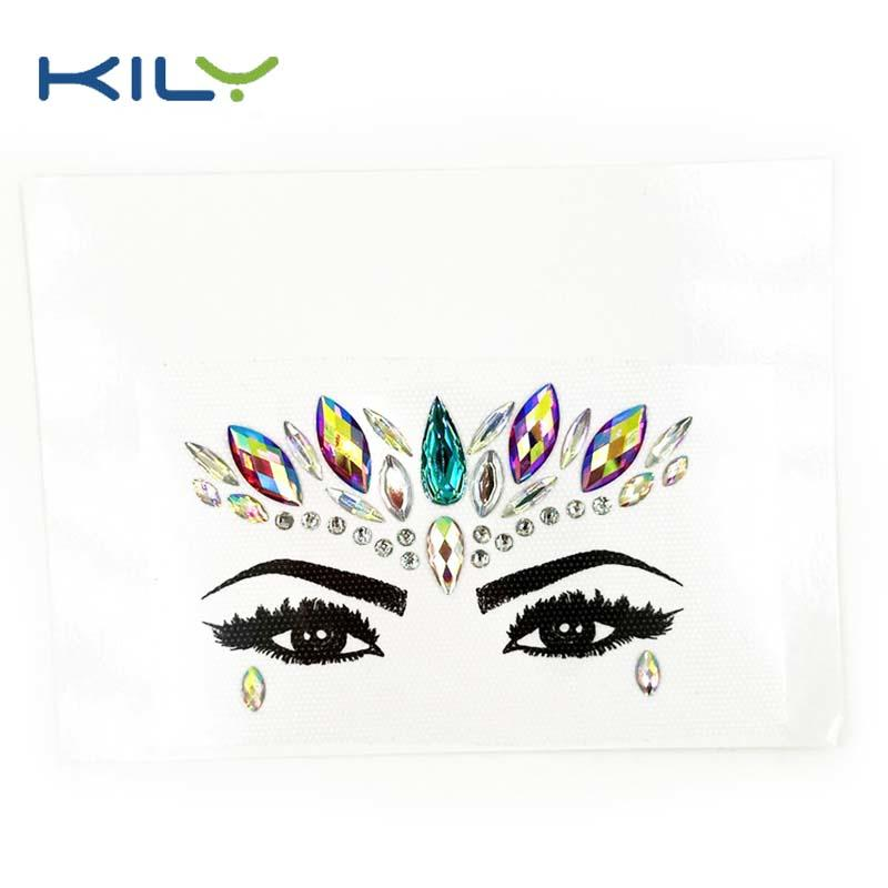 Sexy Temporary cosmetic grade body tattoo sticker KB-1149