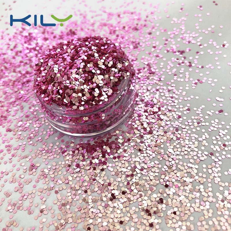 Shifting glitter cosmetic face glitter for makeup XC001A