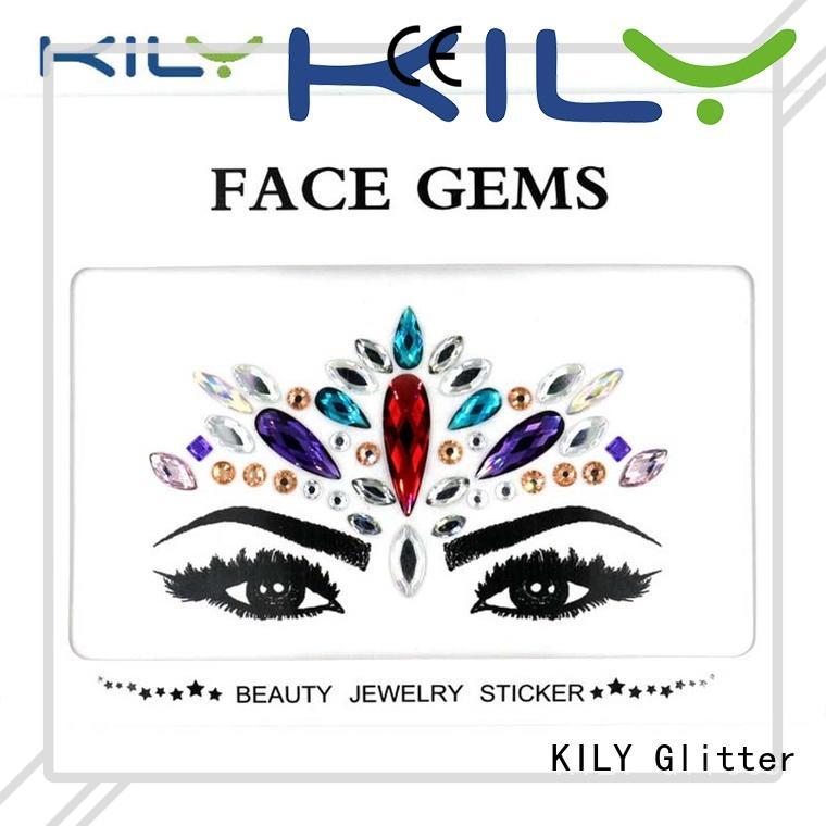 KILY custom face diamonds manufacturer for beach