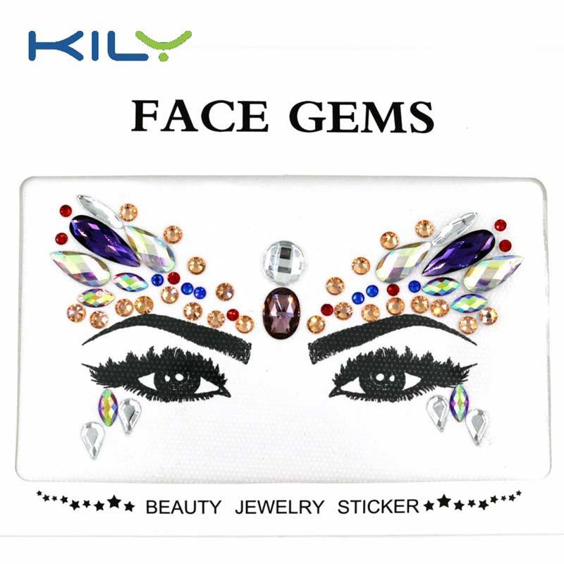 KILY custom flat face gem series for Halloween-1