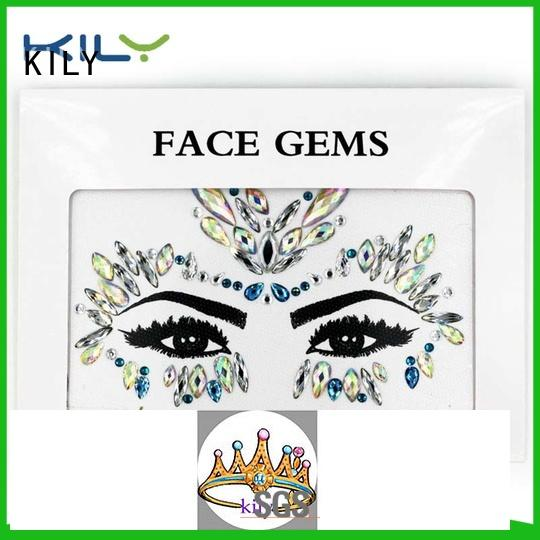 online jewel face fashion series for music festival