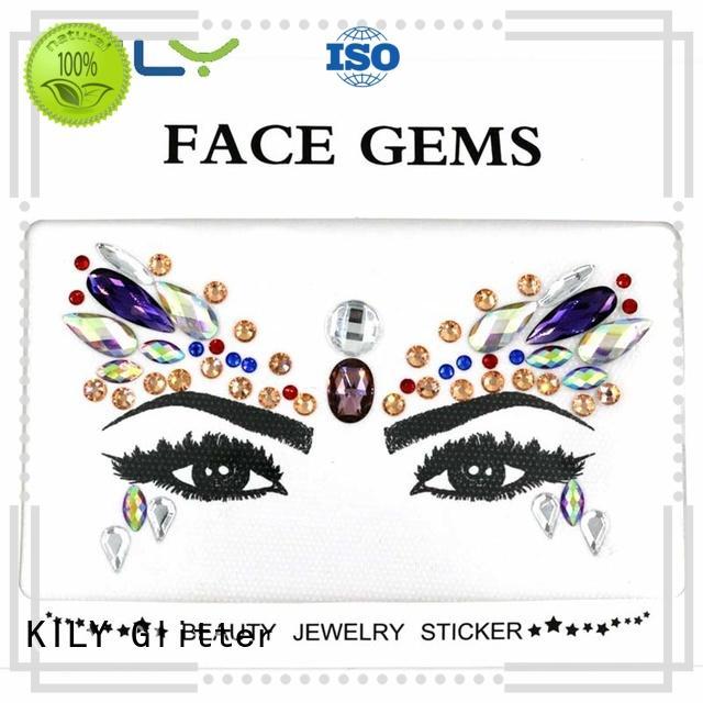KILY custom flat face gem series for Halloween