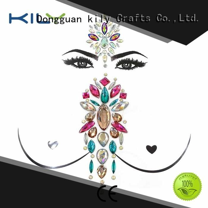 KILY professional gem stickers supplier for beach