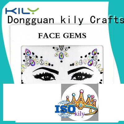 KILY online jewels on face supplier for beach