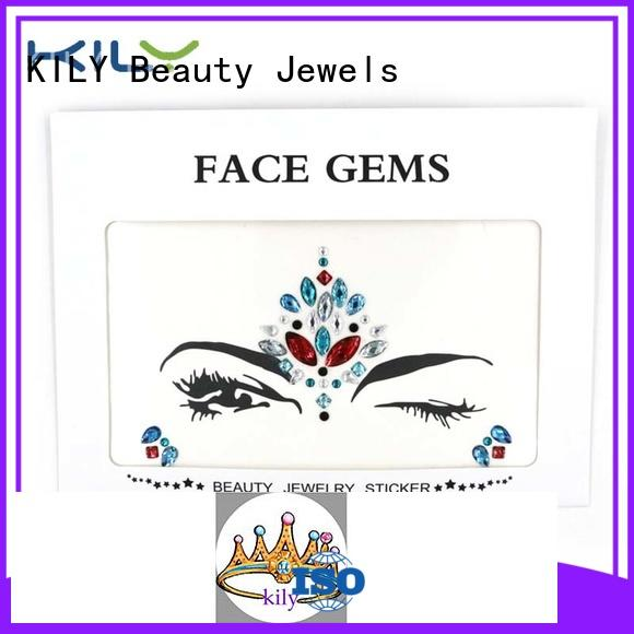 face and body jewels tattoos Bulk Buy festival KILY