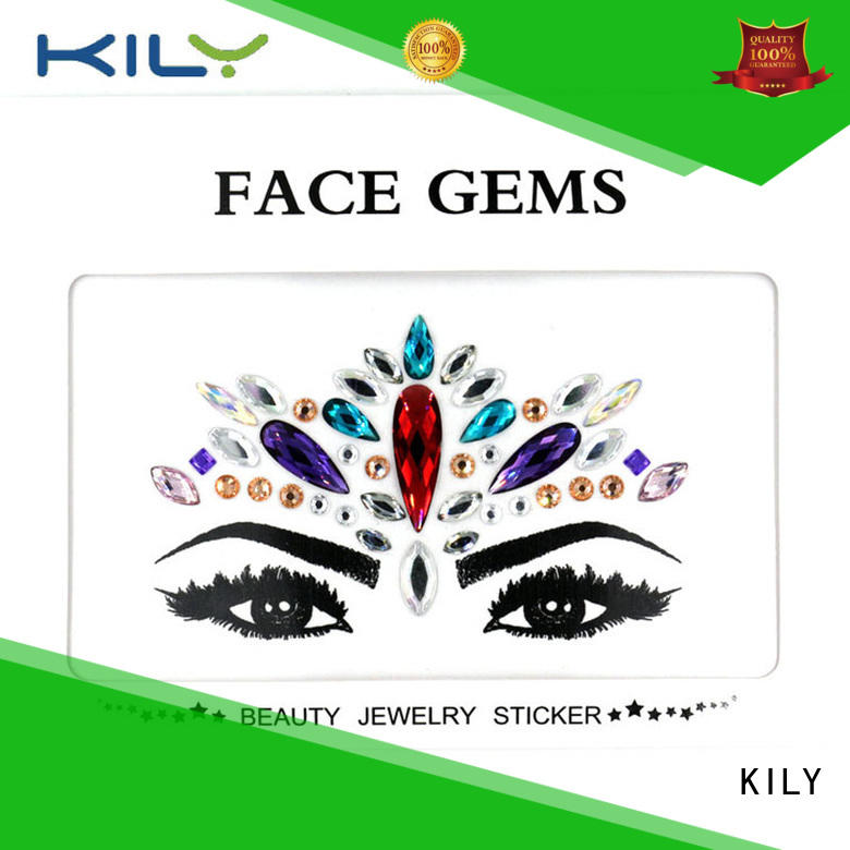 online face jewels wholesale for fashion show