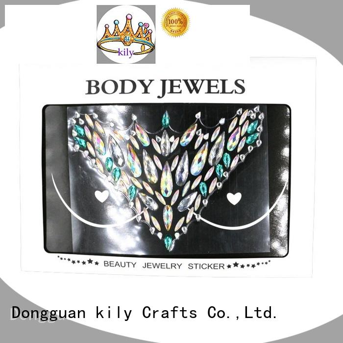 festival body gems gemstone for carnival KILY