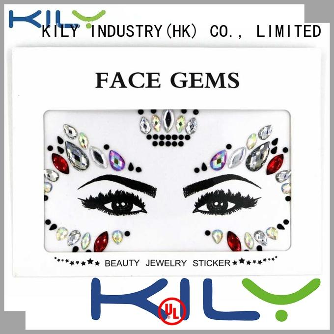 KILY online face gems supplier for Christmas