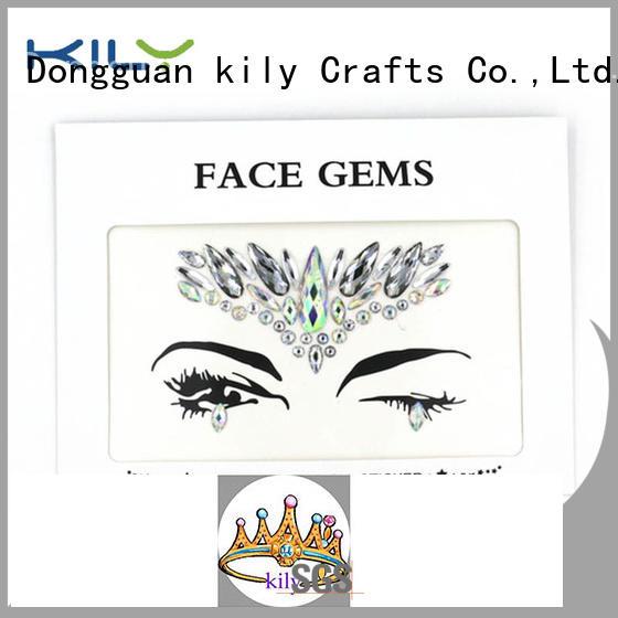 custom black face gems manufacturer for sport meeting