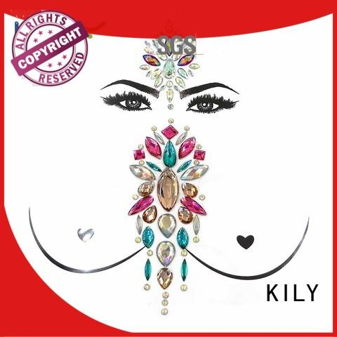 KILY body art jewelry supplier for music festival