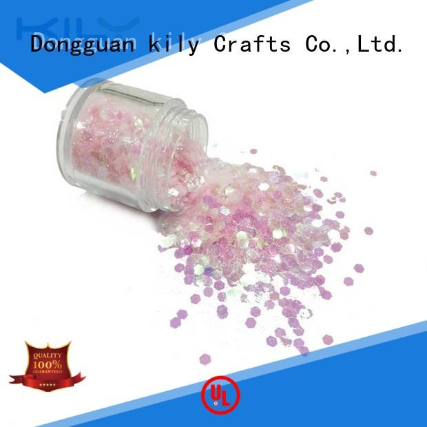 KILY hot sale wholesale glitter suppliers for sport meeting
