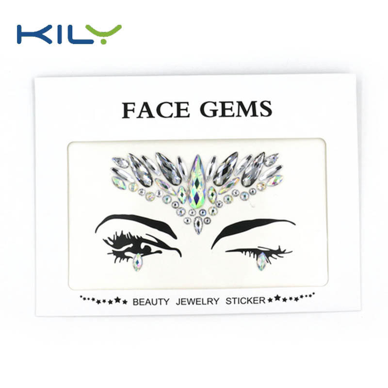KILY professional face gems wholesale for fashion show-1
