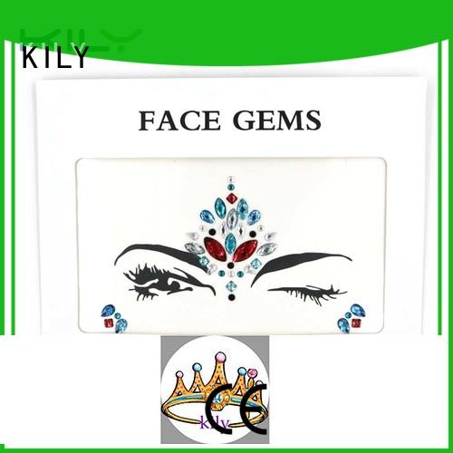 KILY red face jewels manufacturer for sport meeting