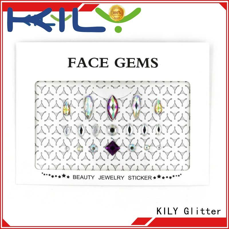 KILY professional eye jewels series for beach