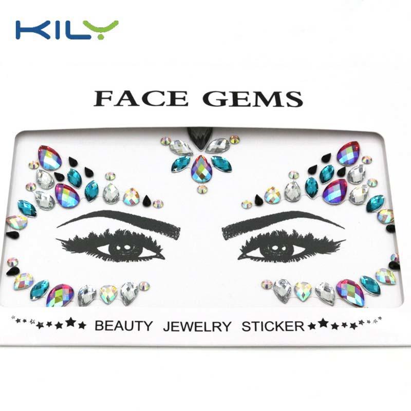 KILY custom face rhinestones manufacturer for fashion show-1