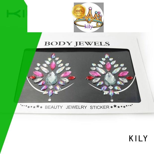 KILY sticker belly jewel sticker series for music festival