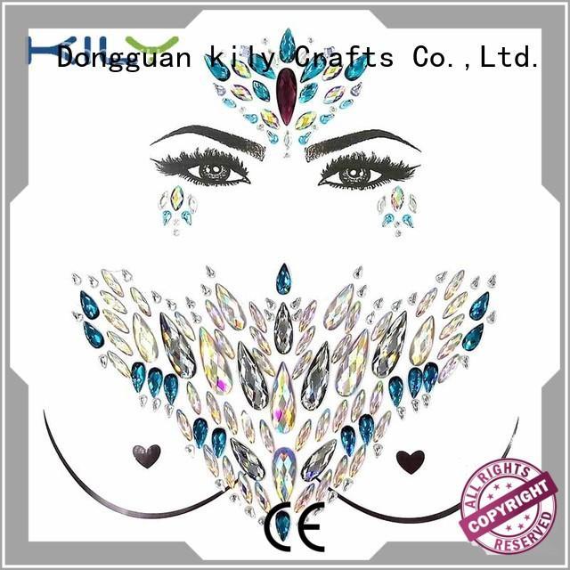 stick on body gems decorative gems body art jewelry KILY Brand