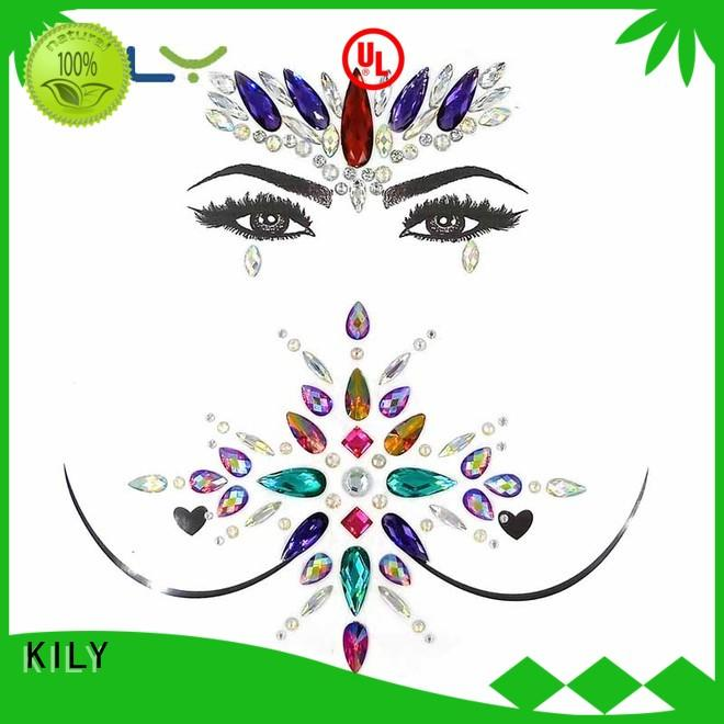 KILY safety body tattoo supplier for Halloween