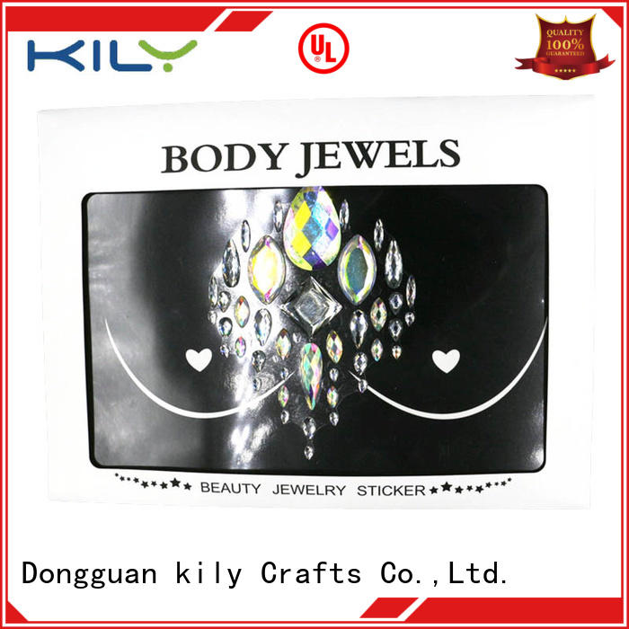 KILY professional body jewels supplier for carnival