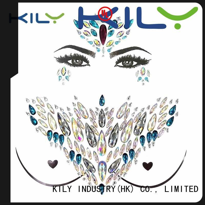 KILY tattoo body tattoo wholesale for fashion show