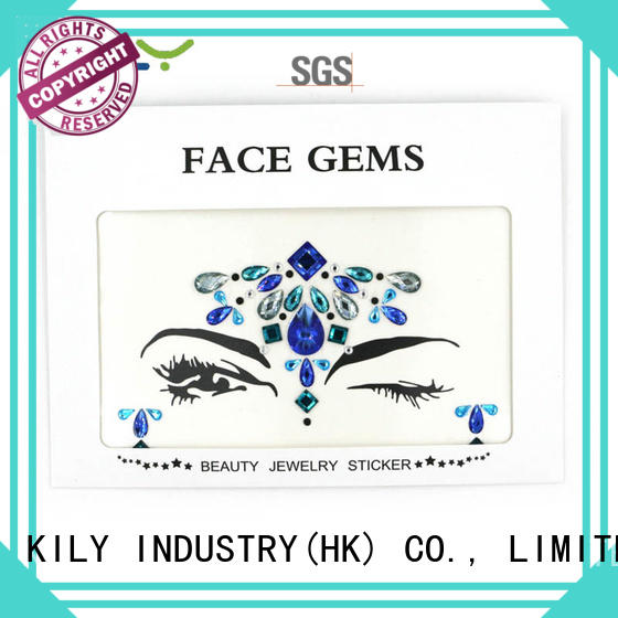 custom jewels on face kb1069 series for Halloween