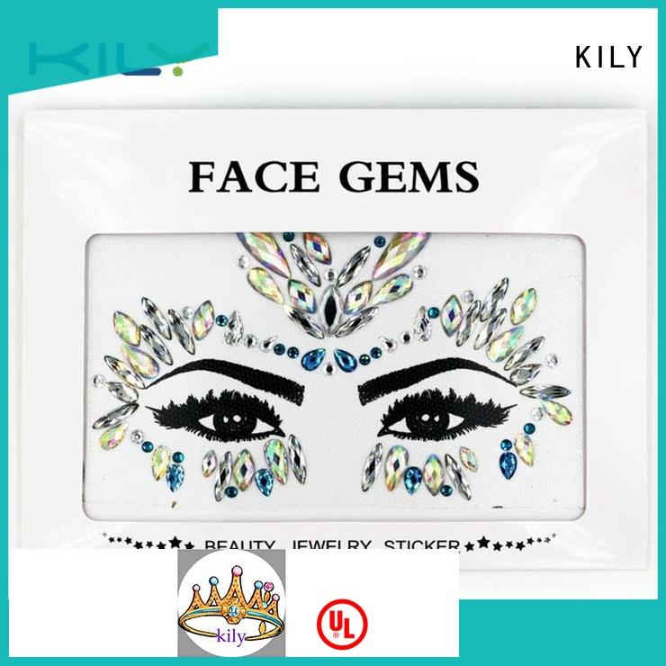 KILY professional indian face jewelry for carnival