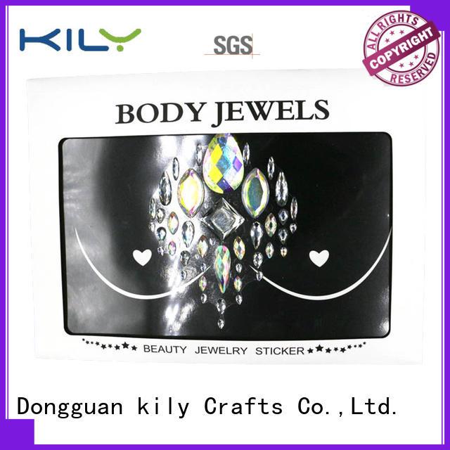 stick on body jewels gemstone for beach KILY
