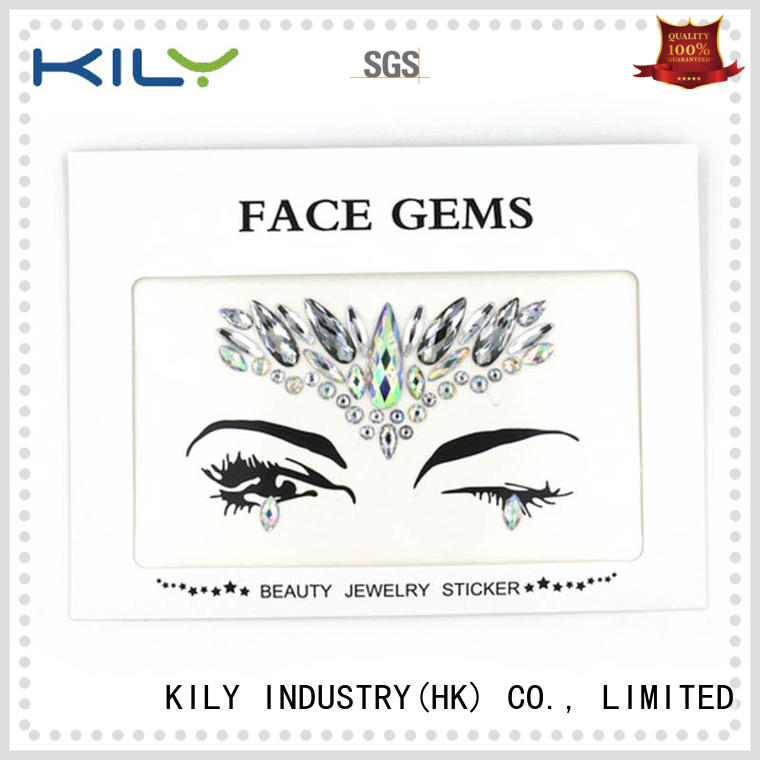 KILY professional face gems wholesale for fashion show