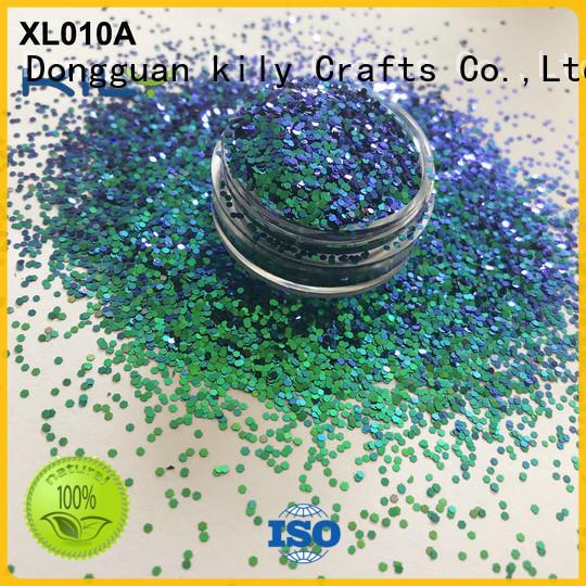 KILY professional shifting glitter supplier for fashion show