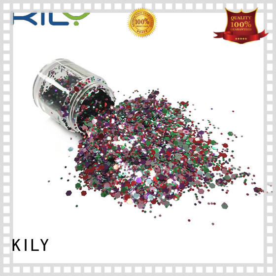 KILY hot sale face and body glitter for party