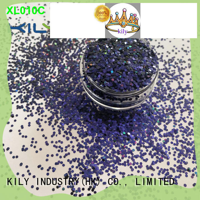 KILY xc008a cosmetic glitter series for beach