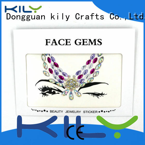 KILY red face gems manufacturer for party