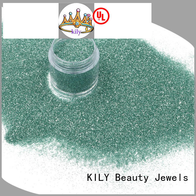 KILY safety fine glitter supplier for shoes