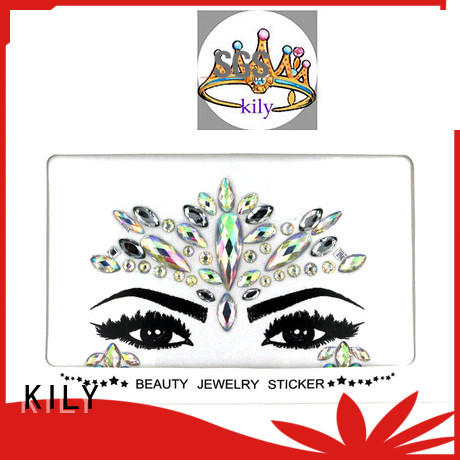 professional jewels on face rhinestones series for carnival