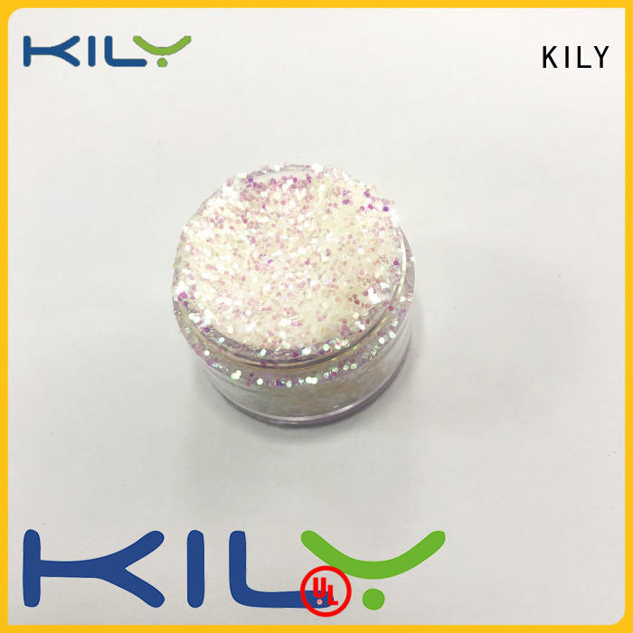 KILY professional iIridescent glitter wholesale for Christmas