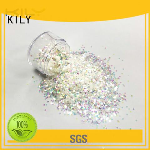 yellow Iridescent Glitter supplier for beach
