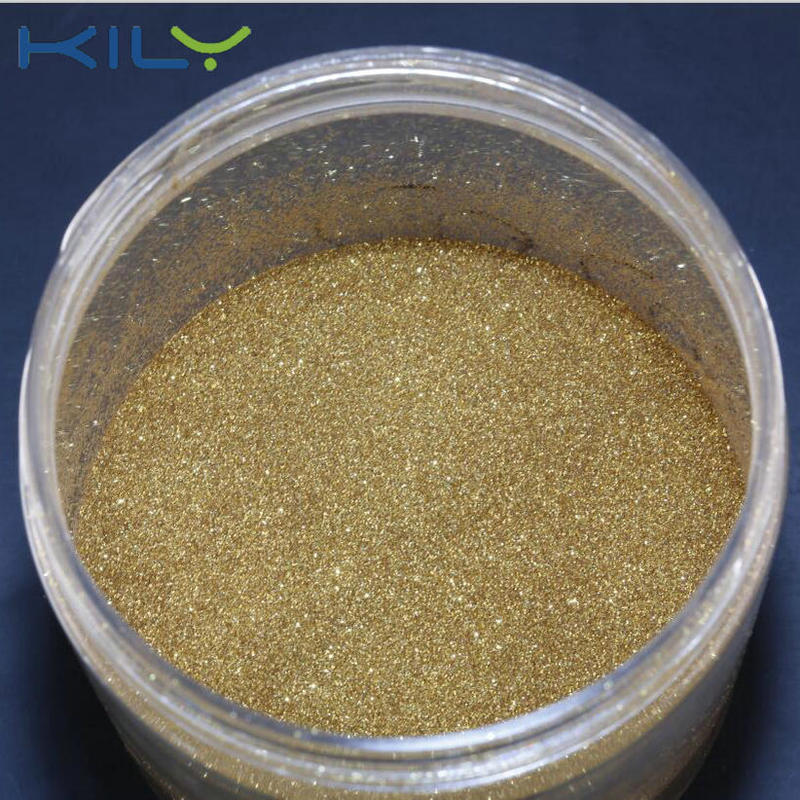KILY biodegradable gold glitter cosmetic chunky glitter for body makeup B0215