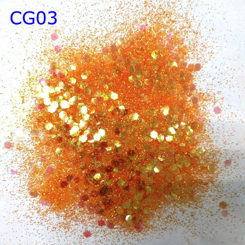 KILY Cosmetic chunky glitter face and body glitter for Christmas makeup CG03