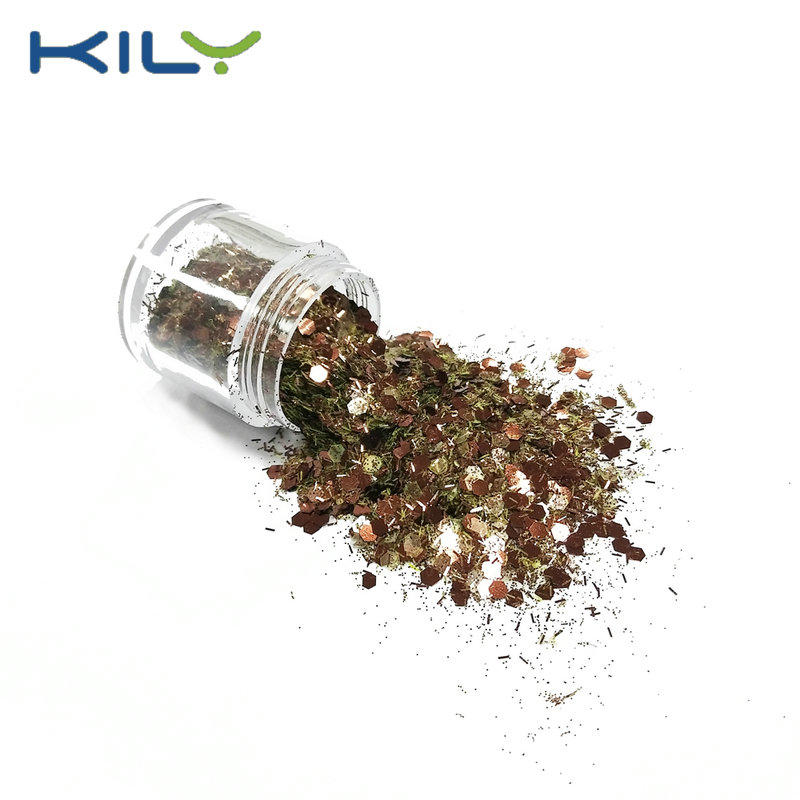 Chunky Glitter Eco-friendly PET face and eye decoration for party CG09