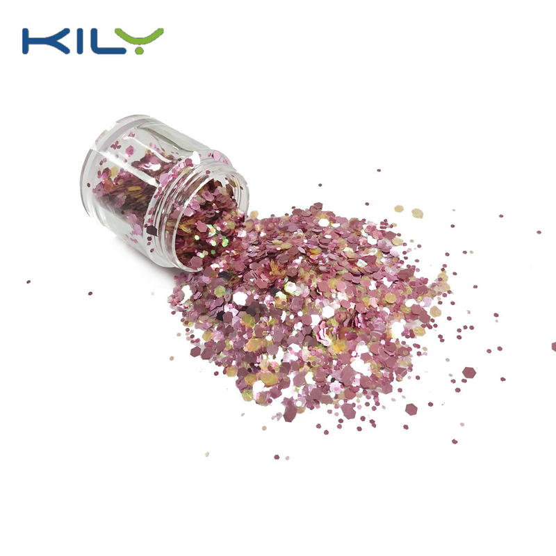 KILY Cosmetic PET Chunky Glitter for Face and Body Makeup CG20