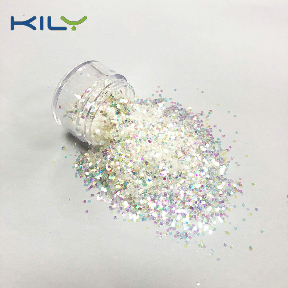 KILY Cosmetic Iridescent PET Face Glitter Rainbow Glitter for Party C22