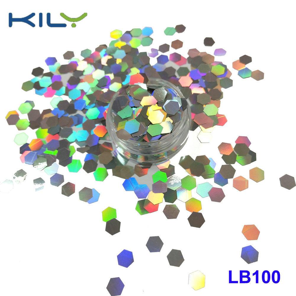 KILY Festival Holographic PET Cosmetic Glitter Laser Shine Glitter LB100