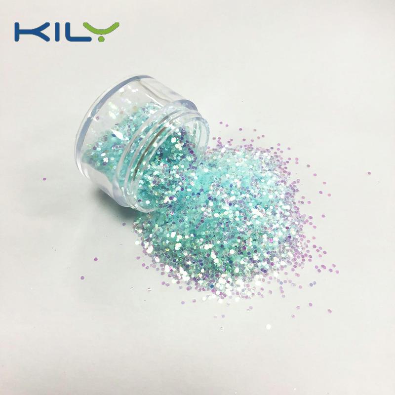 professional Iridescent Glitter supplier for music festival