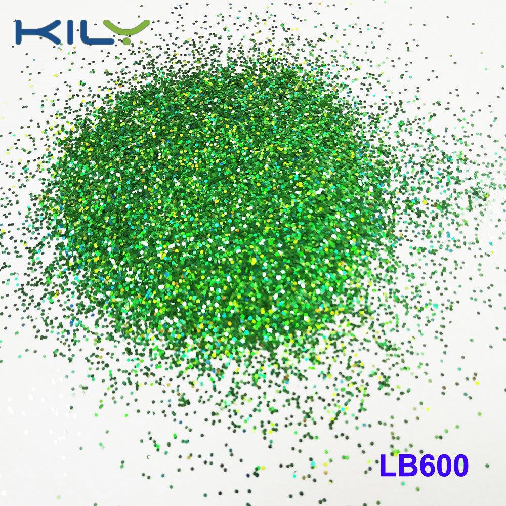 KILY Fine Glitter Powder Green Cosmetic Glitters for Eye and Lips LB600