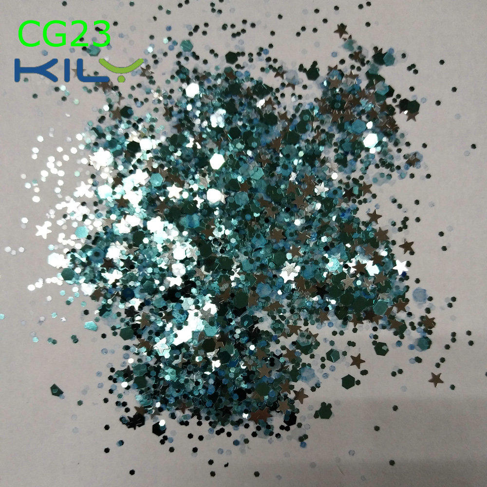 KILY Wholesale Cosmetic Chunky Glitter FDA Approved CG23