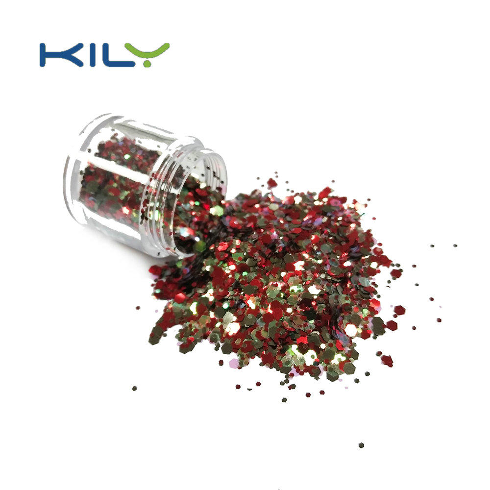 KILY Highlighter Makeup Loose Powder Chunky Glitter CG24