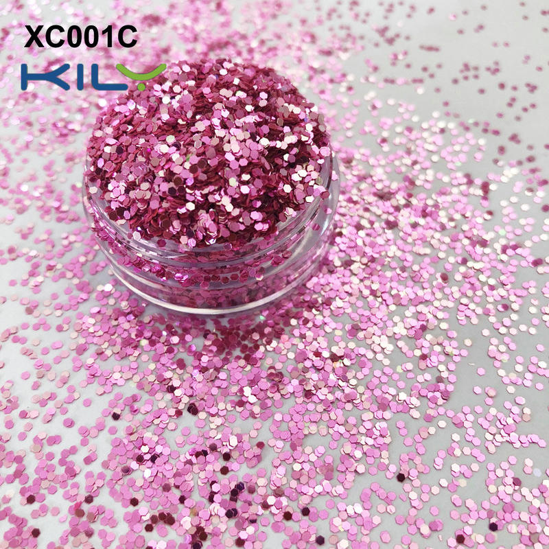 KILY cosmetic different color PET shifting glitter for party XC001C
