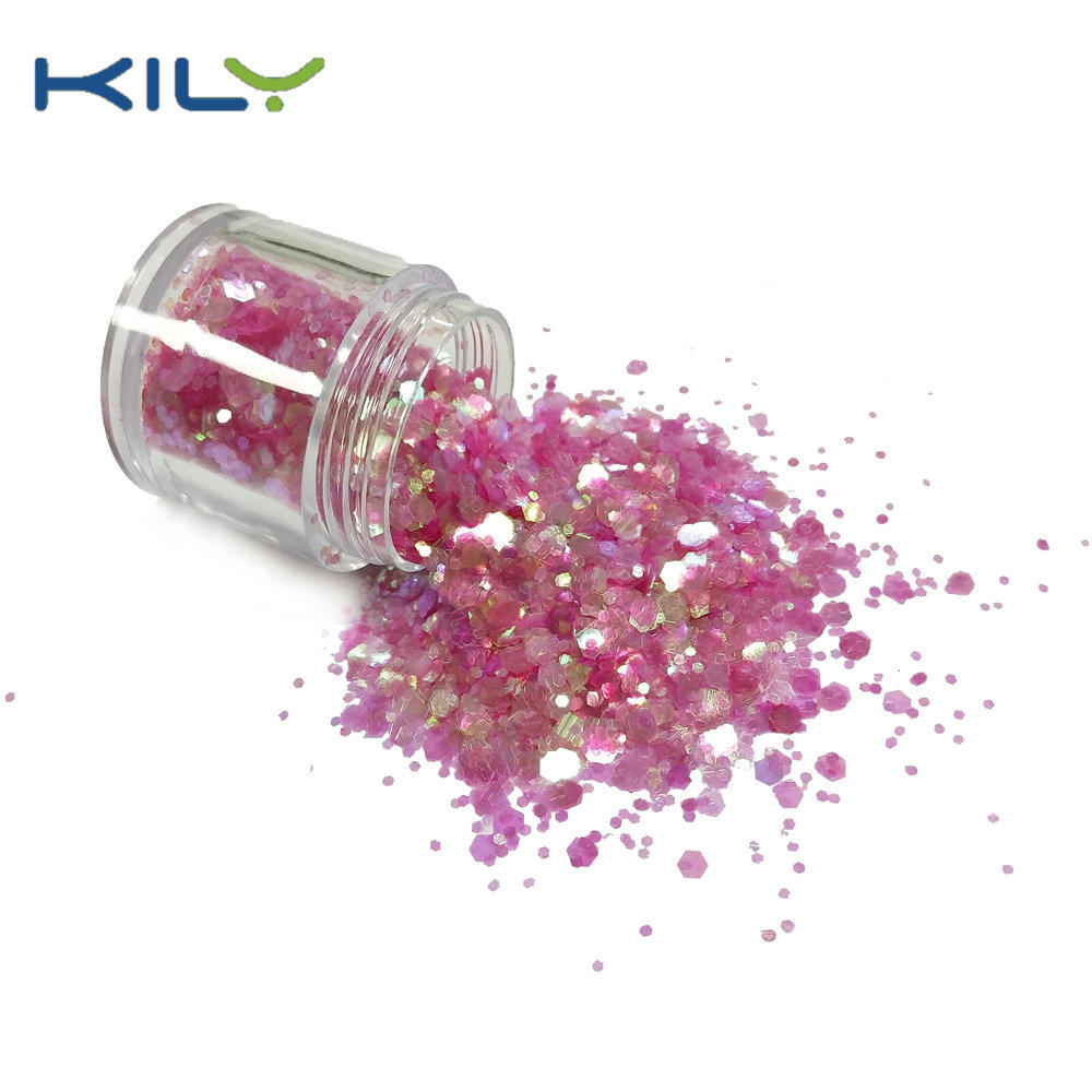 KILY Festival Face Chunky Mixed Glitter PET Cosmetic Glitter CG30